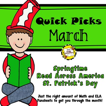 March Quick Picks: Budget-Friendly ELA and Math Funsheets