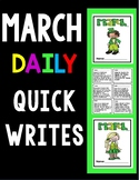 March Quick Writes