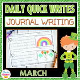 March Quick Writes (Daily Journal Writing Prompts)