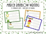 March Rainbow Writing