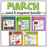March: Reading Comprehension, Writing and Craftivities BUNDLE