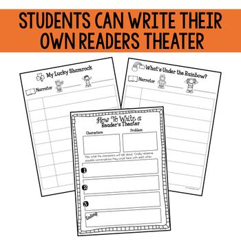 March: Reader's Theater {Leprechaun Themed}