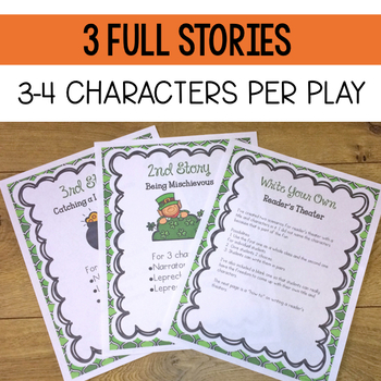 March: Reader's Theater {Leprechaun Themed}