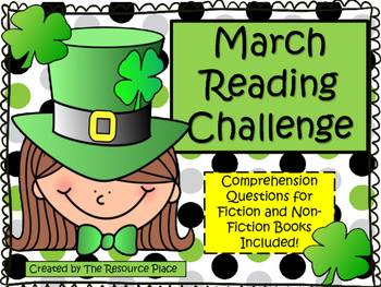 NO PREP March Reading Challenge!