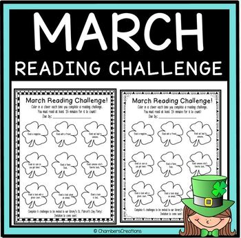 March Reading Challenge- Library