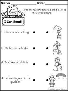 March Reading Comprehension Check