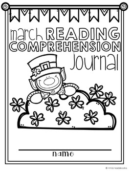 March Reading Comprehension Journal {NO PREP!}