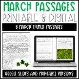 Leveled Text: March Reading Passages