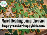 March Reading Comprehension: St. Patrick's Day Fun!