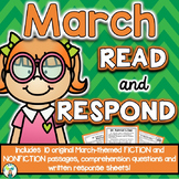 March Reading Comprehension & Written Response