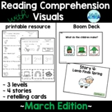 Reading Comprehension with Visuals (March) + BOOM Deck