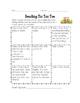 March Reading Homework Tic Tac Toe Reading Log