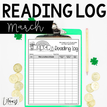 Reading Log {March}