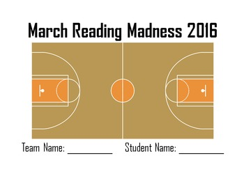 March Reading Madness Tournament 2016