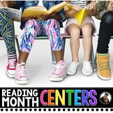 March Reading Month Literacy Centers
