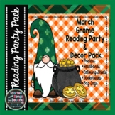 March Reading Party Pack