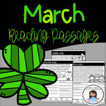 March Reading Passage with Questions