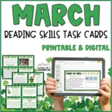 March Reading Skills and Enrichment Task Cards
