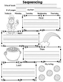 Reading Writing and Spelling Sample Activites