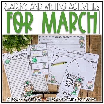March Reading and Writing Activities