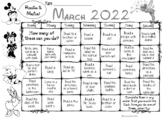 March Reading is Magical Calendar 2021
