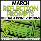 March Reflection Prompt Cards