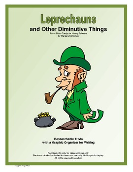 March Researchable Trivia:  Leprechauns and Other Diminutive Things