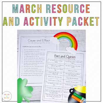 March Centers and Resources Pack