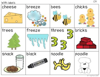 Units for Early Learners with Autism: March Rhyming Fun