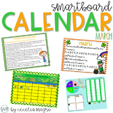 March SMARTBoard Calendar  **Common Core Aligned**