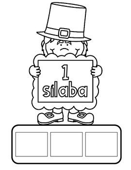 March NO PREP SPANISH Literacy Fun:  Prek and Kinder