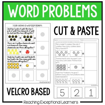 March SPED Math Adapted Workbook