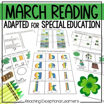 March SPED Reading Adapted Binder