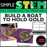 March STEM Activity Build a Boat