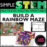 March STEM Activity Build a Maze