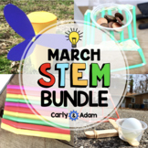 March STEM Activities Bundle: 4 March STEM Challenges Included
