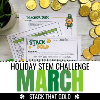 March STEM Challenge - Building Coin Towers