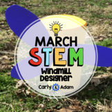 Design a Windmill Spring STEM Challenge / Spring STEM Activity