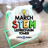 St. Patrick's Day STEM Challenge: Leprechaun Tower - NGSS Aligned