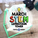 St. Patrick's Day STEM Activity: Leprechaun Tower STEM Challenge