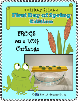 March STEM STEAM Challenge: First Day of Spring Edition