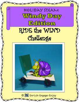 March STEM STEAM Challenge: Windy Day Edition
