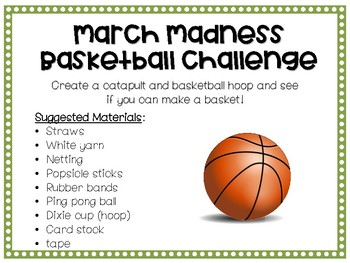 March STEM activities St. Patrick's Day, March Madness, Dr. Seuss and more!