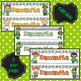 March Saint Patrick's Day Name Tags - editable