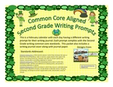 March Second Grade Writing Prompts and Journal Pages (CCS Aligned)