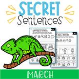 March Secret Sentences