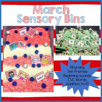 March Sensory Activities