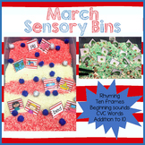 March Sensory Center Activities