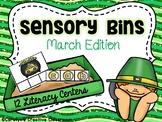March Sensory Bins - Literacy Centers