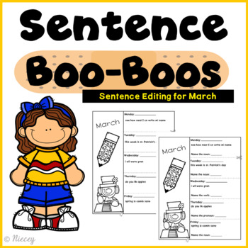 Editing Sentences - March